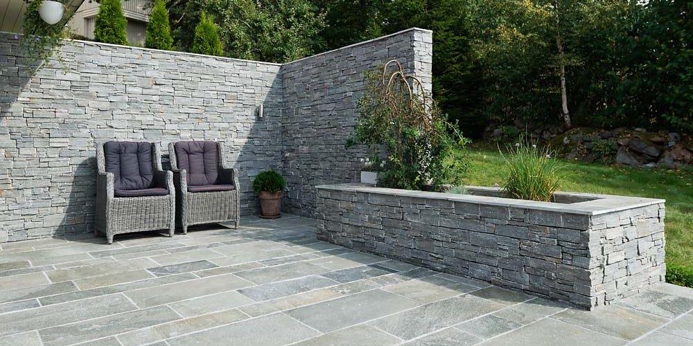 Naturstein steinpanel - uten linjer