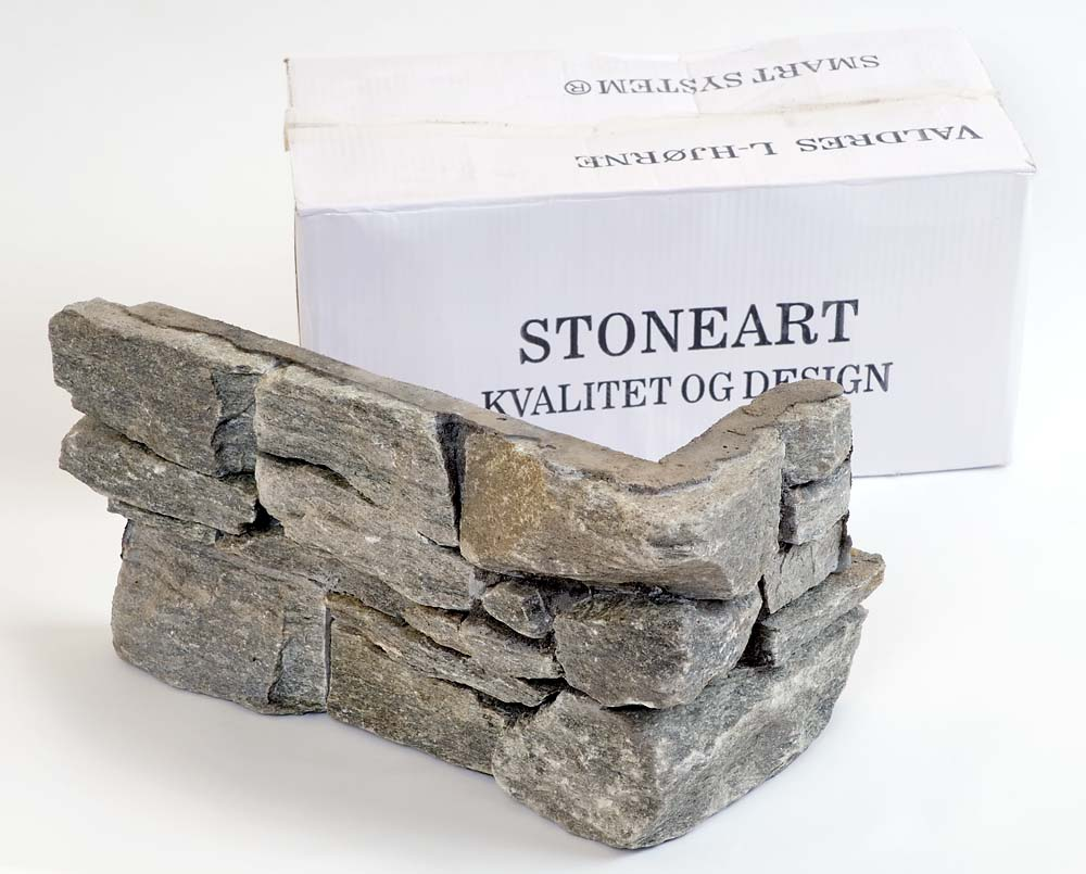 Stone wall Valdres steinpanel