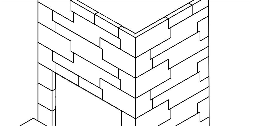 Tegning Z-element peis L